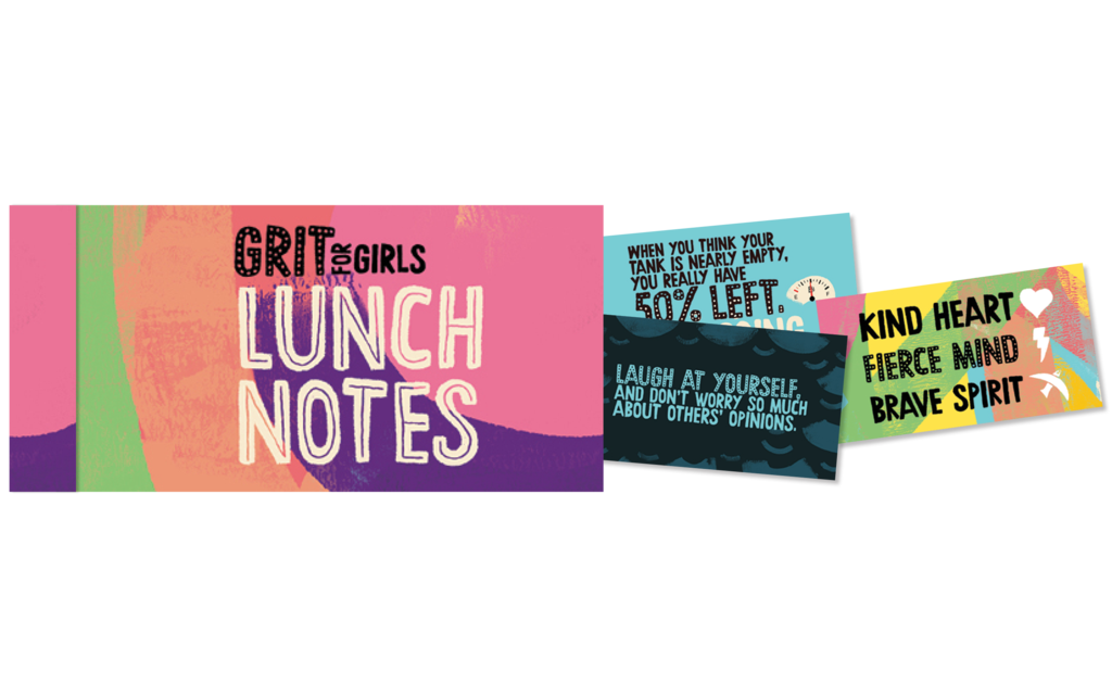 Grit For Girls Lunch Notes