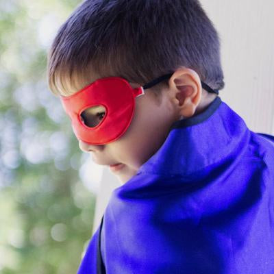 Reversible Adventure Mask: Red/Blue