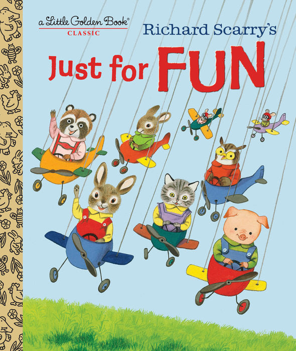 Little Golden Book Richard Scarry's Just For Fun