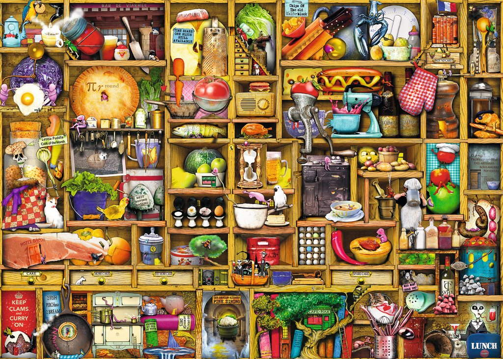 Kitchen Cupboard - 1000pc Puzzle