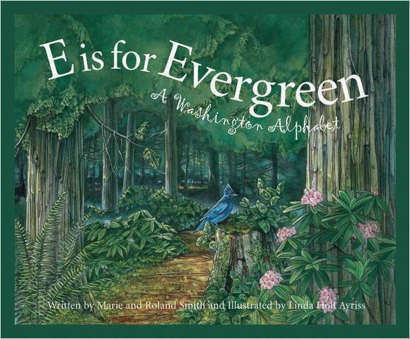 E is for Evergreen Book