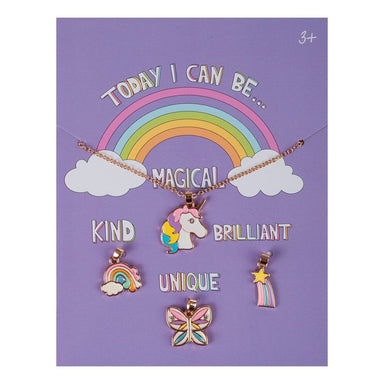Today I Can Be Magical, Kind, Brilliant and Unique - Creative Charm Carded Gift Set