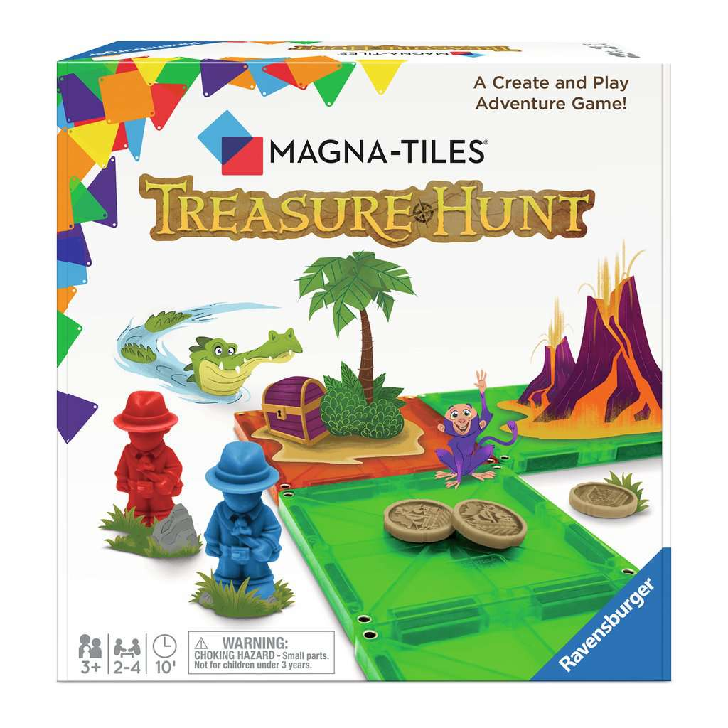 Magna-Tiles® Treasure Hunt