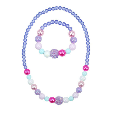 Pastel Dream Necklace and Bracelet Set