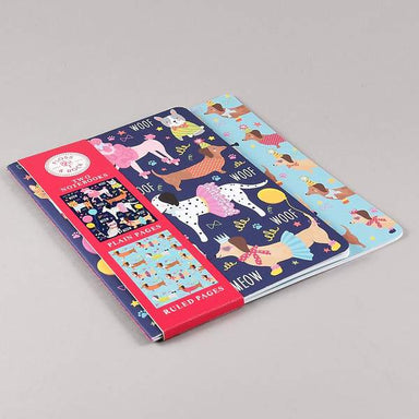 Pets Set of 2 Notebooks