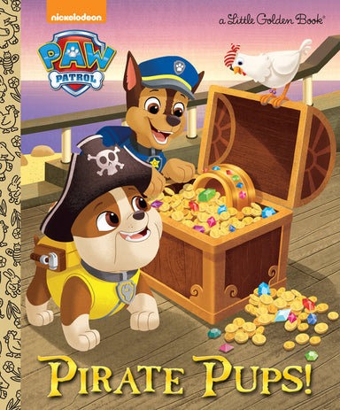 Little Golden Book Pirate Pups! (Paw Patrol)