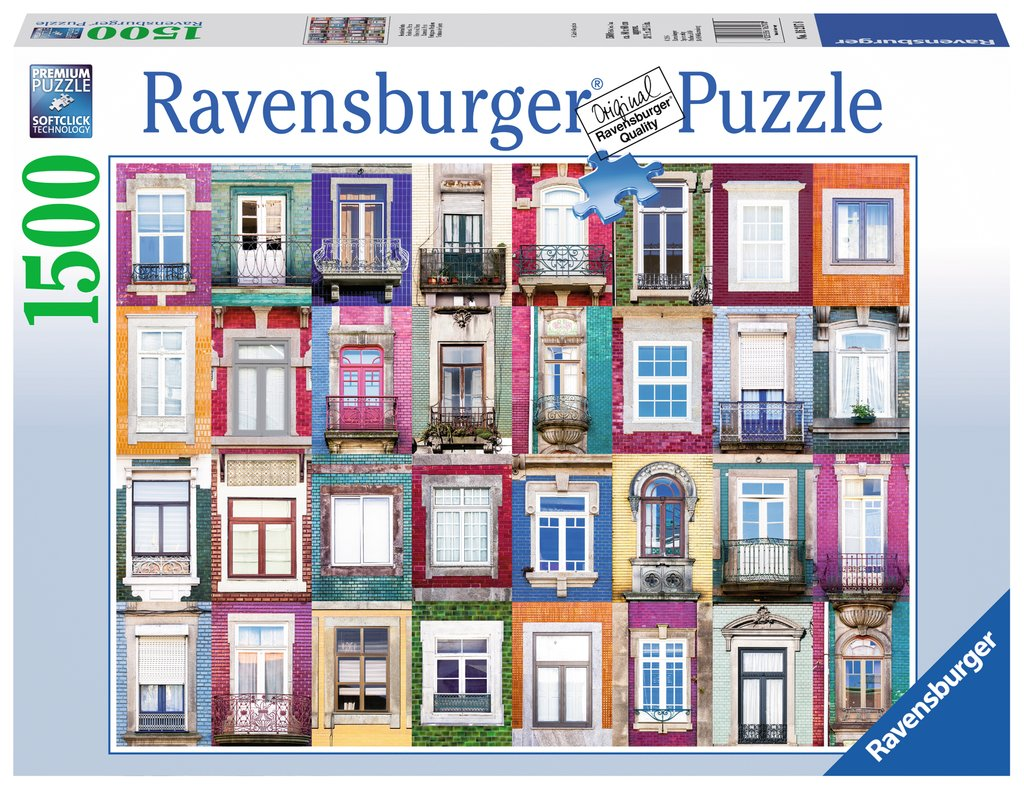 Portuguese Windows - 1500pc Puzzle