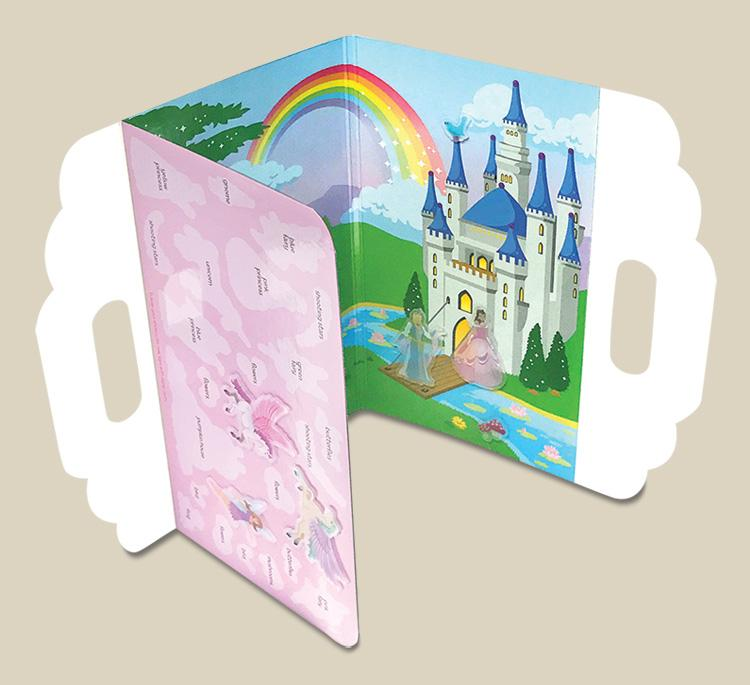 Princess Wonderland Peel and Play Activity Set