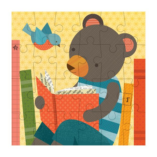 Reading Bear Petit Puzzle