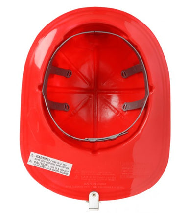 Red Firefighter Helmet