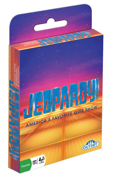 Jeopardy! Hang Tab Card Game