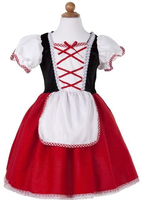 Little Red Riding Hood Tea Party Dress