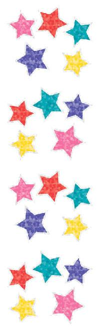 Jewel Stars Sparkle Stickers