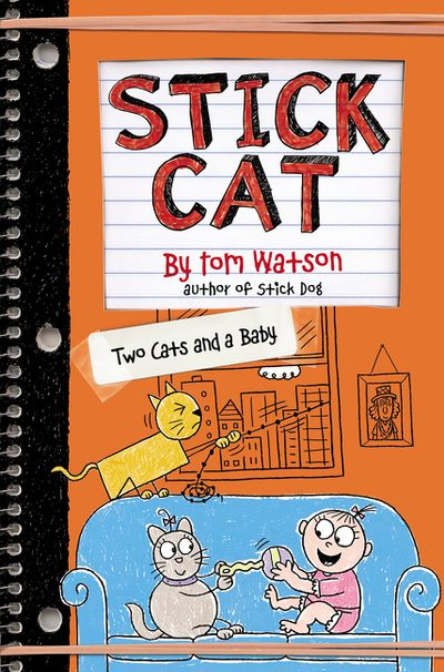 Stick Cat: Two Cats and a Baby