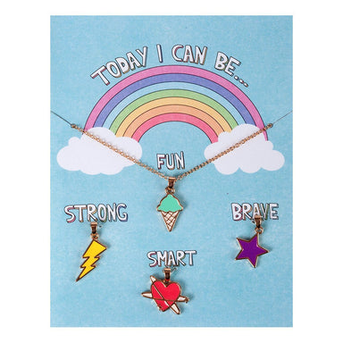 Today I Can Be Fun, Strong, Smart and Brave - Creative Charm Carded Gift Set