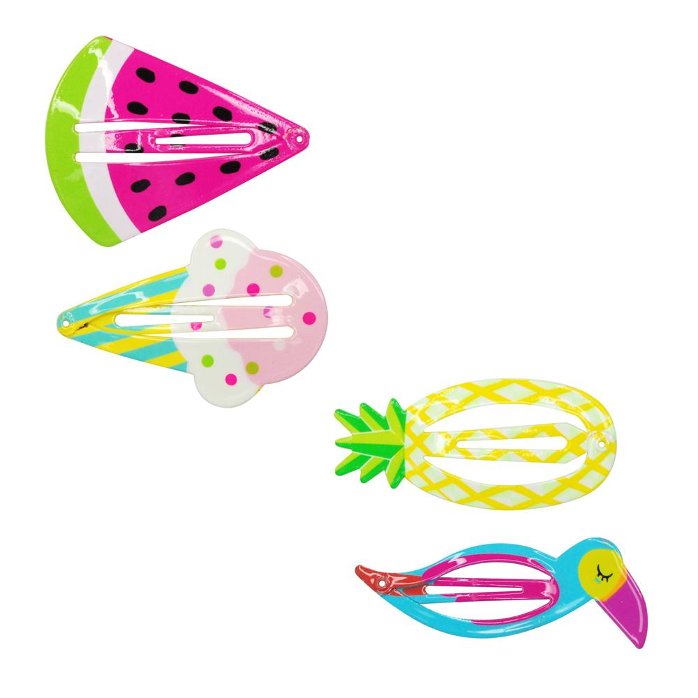 Summer Fun Shapes Hairclips