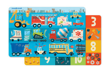 Busy City Two-Sided Placemat