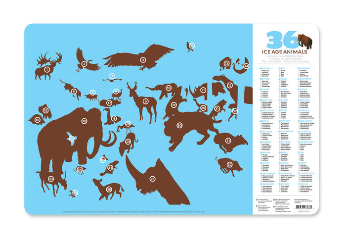 Ice Age Two-Sided Placemat