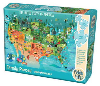 The United States of America 350 Piece Puzzle