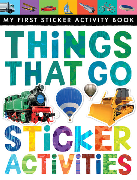 Things That Go: Sticker Activity Book