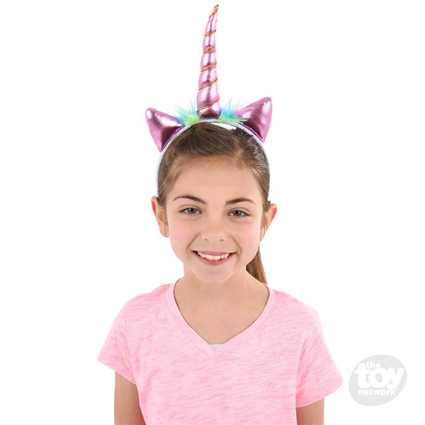 Metallic Unicorn Headband