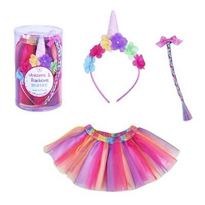 Unicorn & Rainbows Dress Up Set
