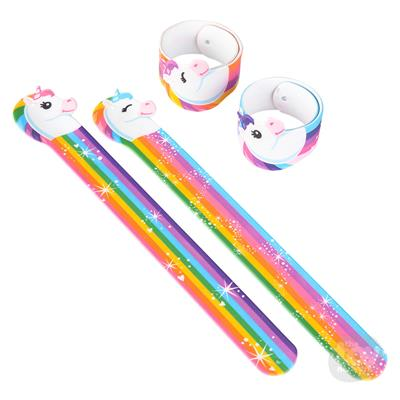 Unicorn Shaped Slap Bracelet