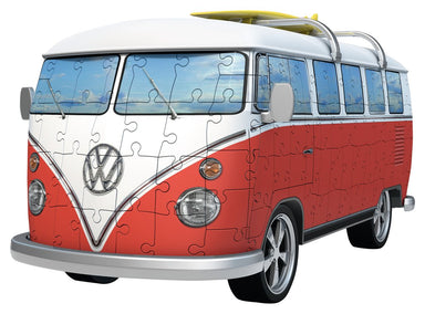 VW Bus T1 Campervan - 3D Puzzle