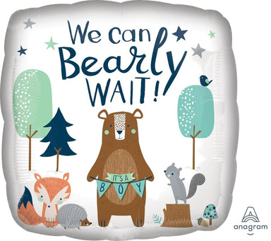 We Can Bearly Wait! Balloon