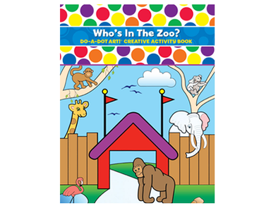 Who's in the Zoo - Do A Dot Art