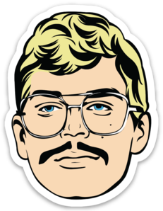 Jeffrey Dahmer Sticker