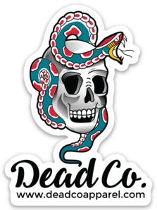 Dead Co. Sticker