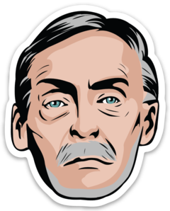 Albert Fish Sticker
