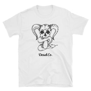 'Demon Skull and Snake' T-Shirt