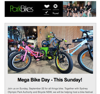 Park Bikes News - Click and save money