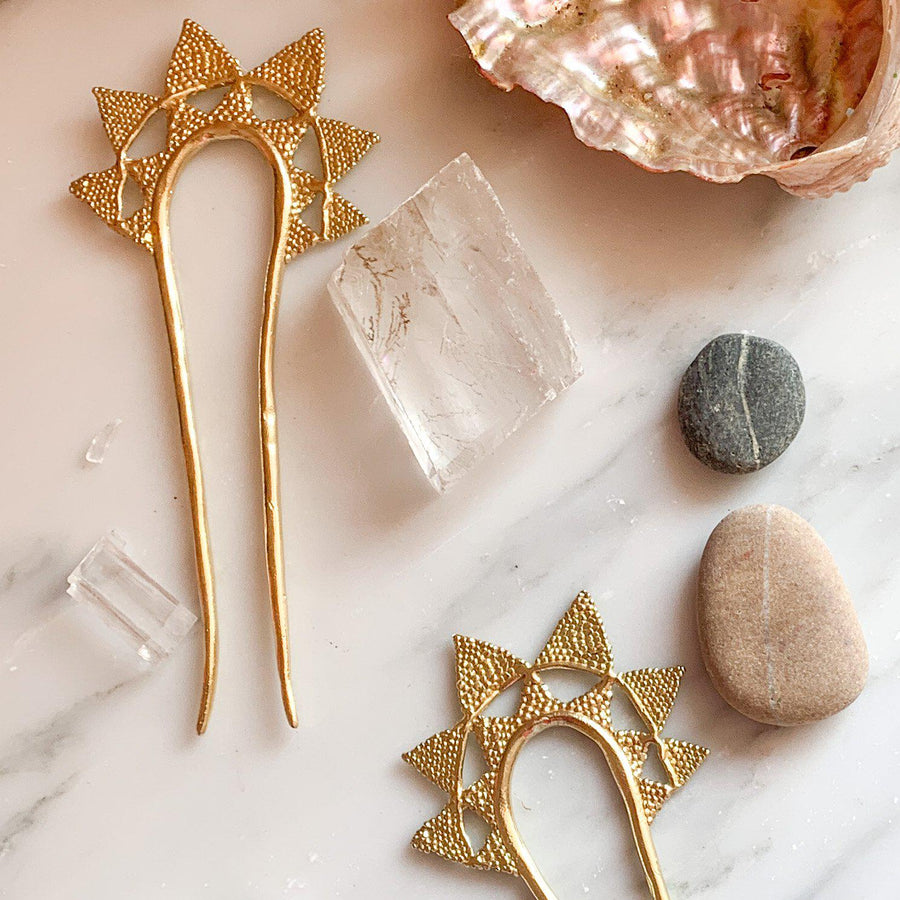 Crown your Journey Hairpin