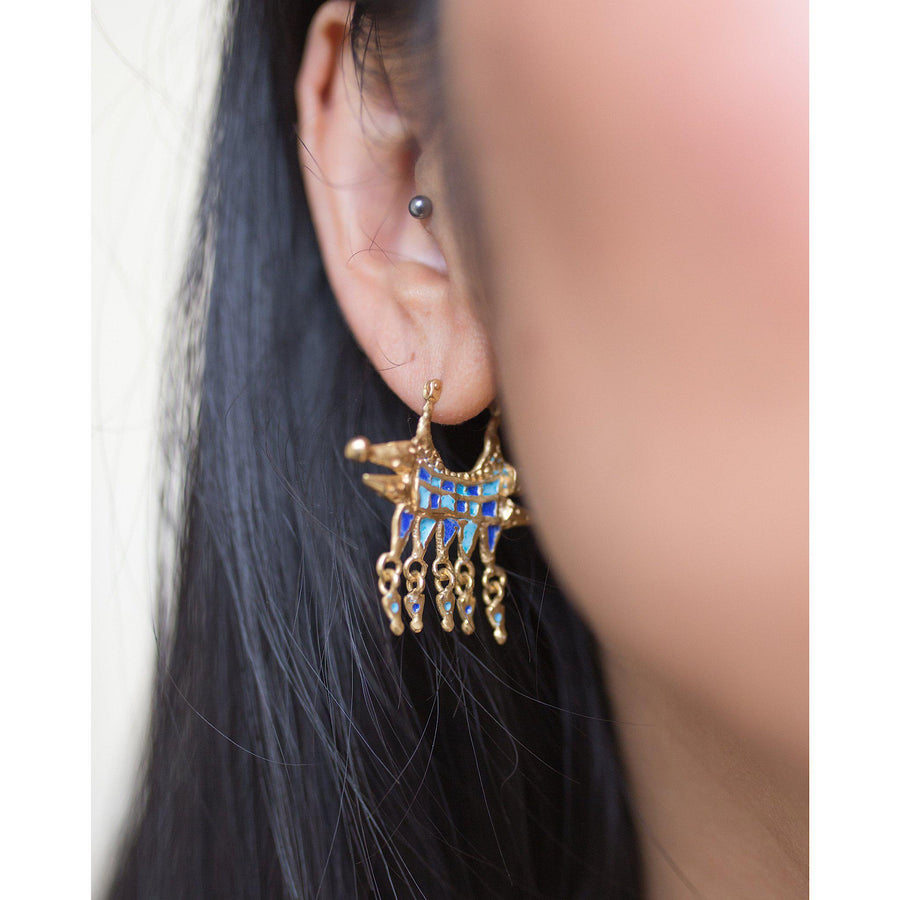 Vortex of the Trixter Earrings