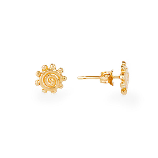 Sun Power Stud Earrings
