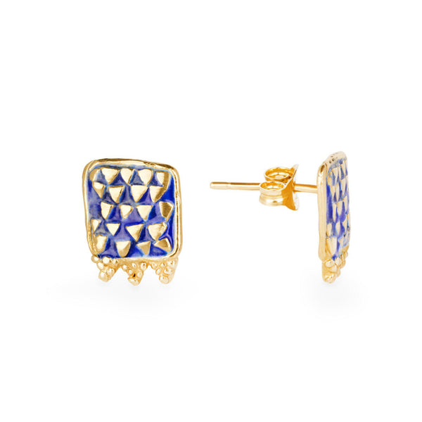 Power of Triangles Stud Earrings
