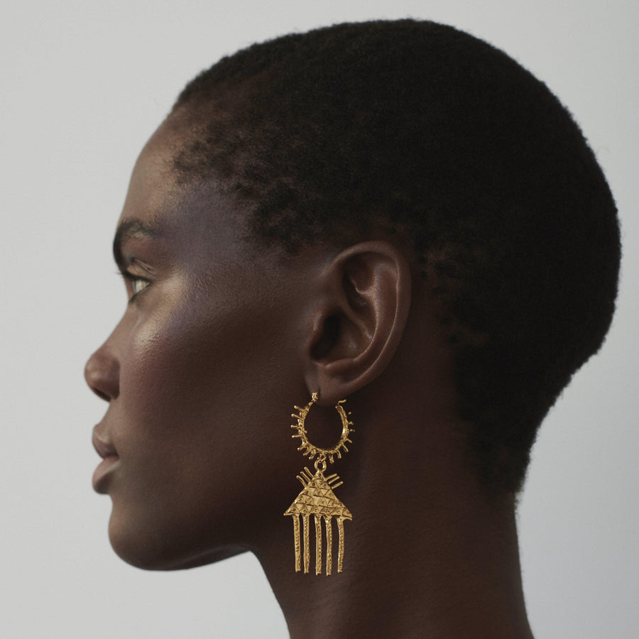 The Comb of Discernment Earrings