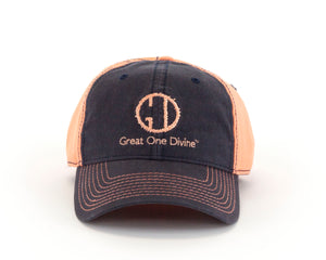 Ladies Distressed Logo Cap