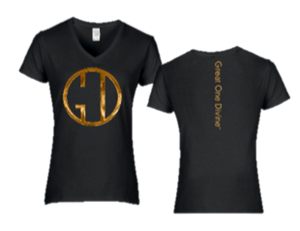 Great One Divine Gold Logo Tee