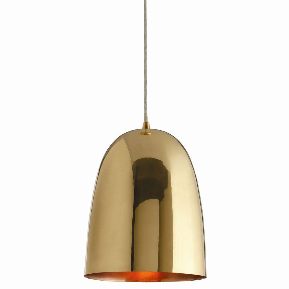 Large Pendant Bell Lamp