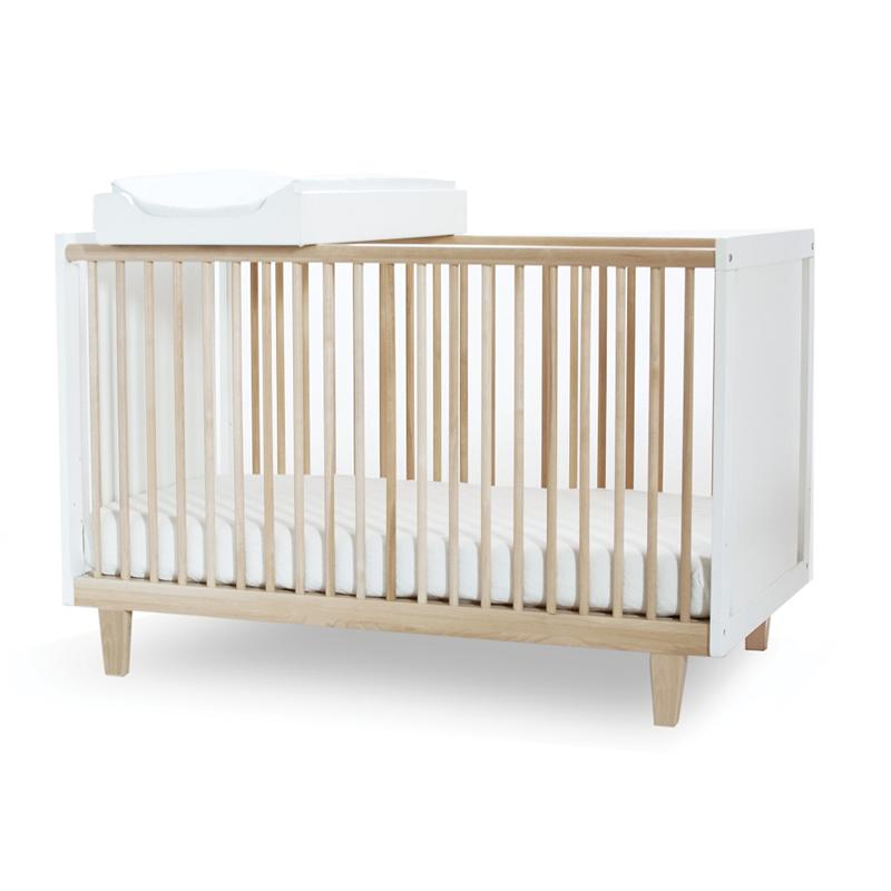 Birch Rhea Crib with optional changing station