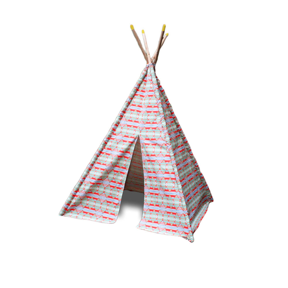 Handprinted Tribal Teepee