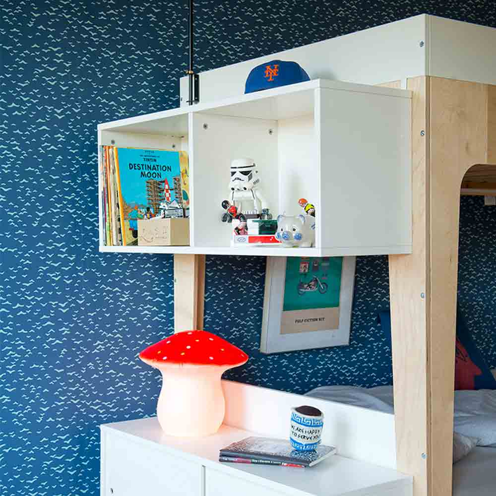 Perch Twin-size Shelving Unit