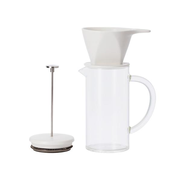 The Pour Over Press: Three Piece Coffee Brewer