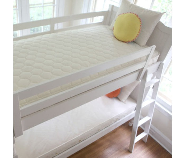 2 in 1 Organic Cotton Ultra/Quilted Mattress - Twin