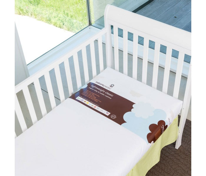 Lightweight Organic Cotton Classic Crib Mattress