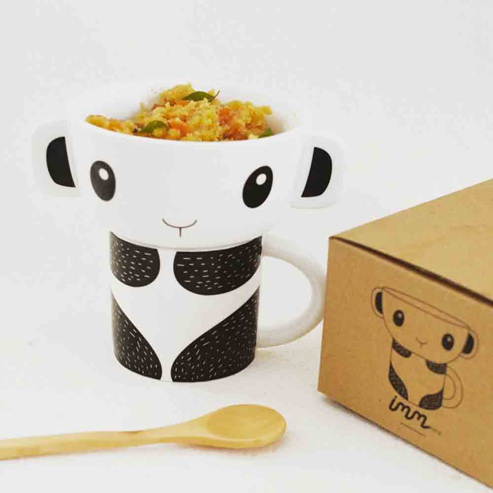 Panda Mealtime Stacking Set